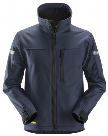 Snickers 1200 AllroundWork Softshell Jacket (Navy / Black)